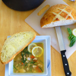 Lemon Basil Chicken Soup