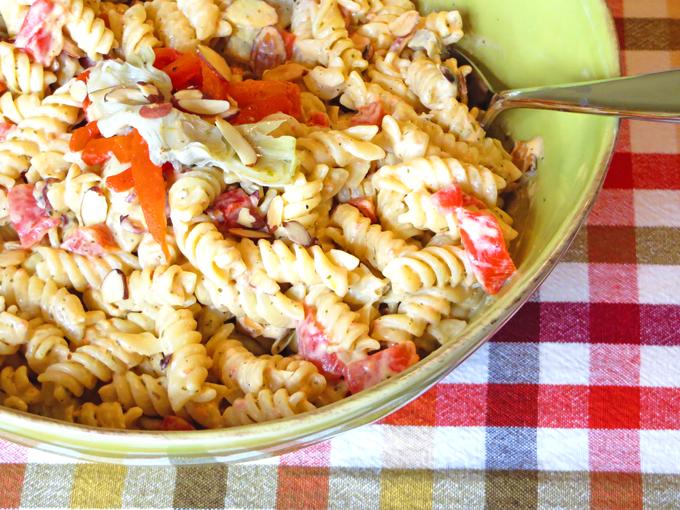how to make red pesto pasta