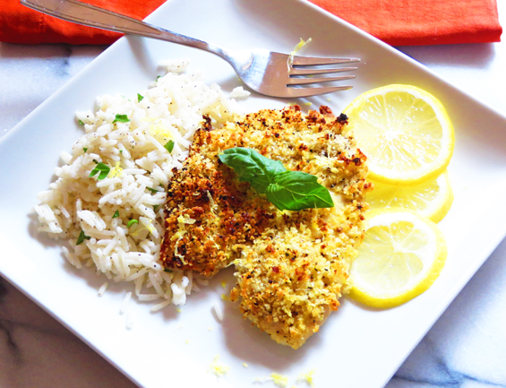 lemon pepper tilapia | sunsets on the side