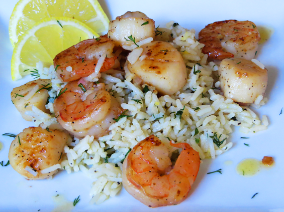 Shrimp With Dill Vinaigrette Recipes — Dishmaps