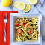 Shrimp Pasta with Lemon Cream Sauce